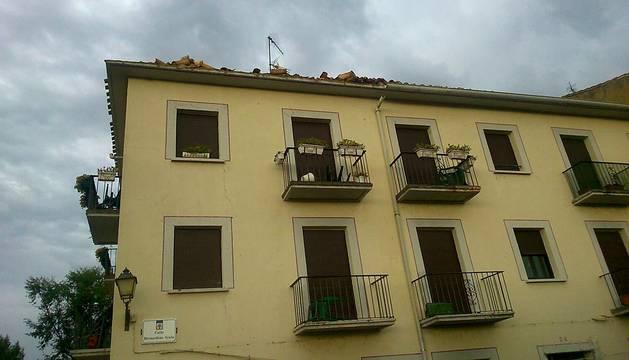 La temperatura cae 13 grados en Pamplona en apenas una hora