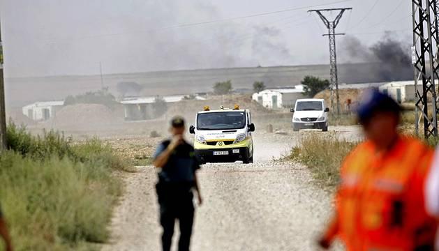Explosión en Pirotecnia Zaragozana