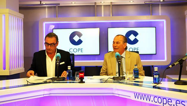 Carlos Herrera, durante la rueda de prensa de presentación.