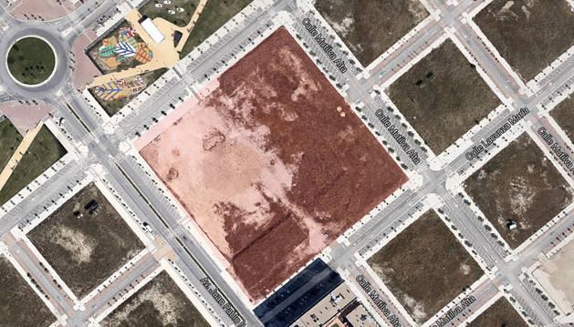 La nueva plaza central del Lezkairu, lista para el próximo verano