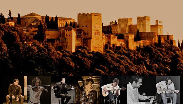 Imagen del grupo flamenco