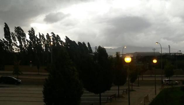 Alerta naranja en toda Navarra por riesgo importante de tormentas