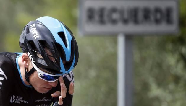 Froome, en la Vuelta.