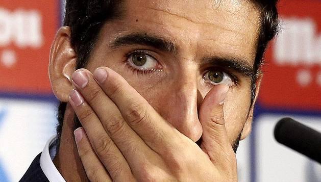 Adiós de Raúl García al Atlético