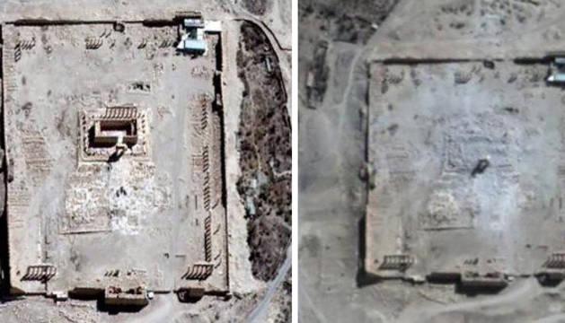 La ONU confirma la destrucción de dos templos en Palmira por el EI