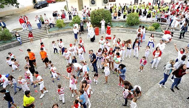 Fiestas del miércoles 2 de septiembre en las localidades navarras de Caparroso, Fontellas y Garínoain.