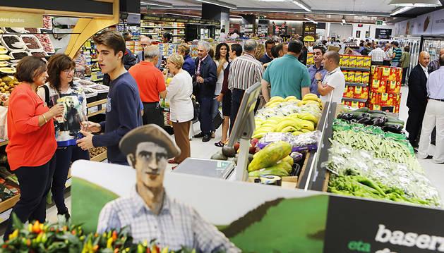 BM abre en los Cines Iturrama su mayor supermercado de Pamplona