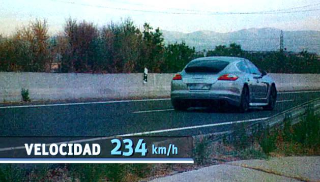 Detenido Antonio Amaya, jugador del Rayo, por circular a 234 kilómetros por hora