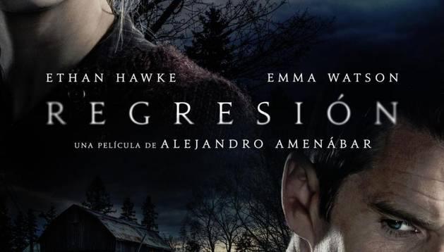 Cartel de la película 'Regresión'.