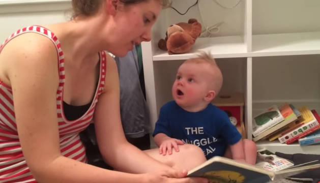 Emmett junto a Alicia, su madre