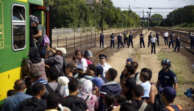 La ONU estima en 200.000 las plazas necesarias para refugiados en Europa