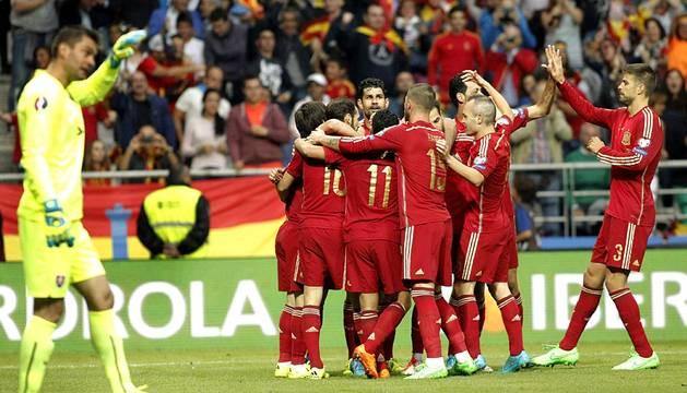 España 2 - Eslovaquia 0
