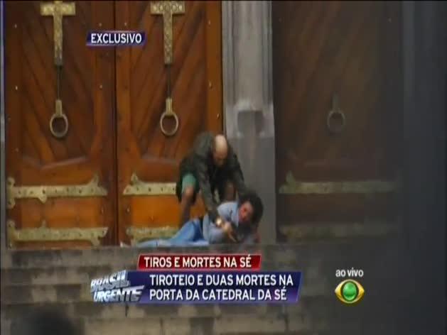 Acto heroico de un mendigo en Brasil que muere tiroteado tras liberar a una rehén