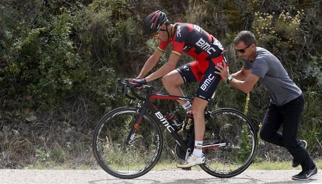 Samuel Sánchez abandona La Vuelta.
