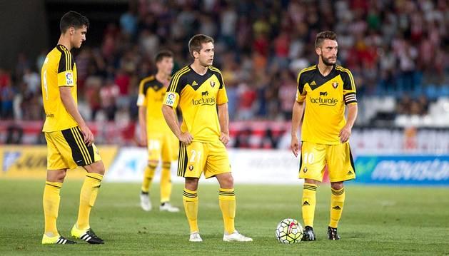 Merino, Pucko y Torres, contra el Almería.