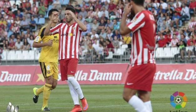 Almería-Osasuna.
