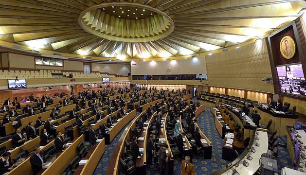 Los miembros del Consejo para la Reforma de Tailandia, en Bangkok.