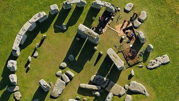 Descubren un nuevo monumento megalítico enterrado en Stonehenge