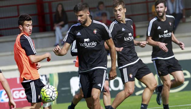 Berenguer, Kodro, Álex Sánchez y Milic.