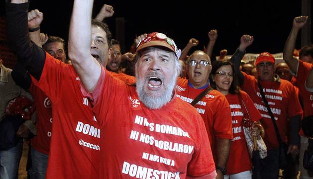 CC OO de Madrid ha convocado una concentración a las 6:30 horas a las puertas de la fábrica.