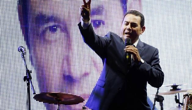 Triunfo del humorista Jimmy Morales en las elecciones de Guatemala