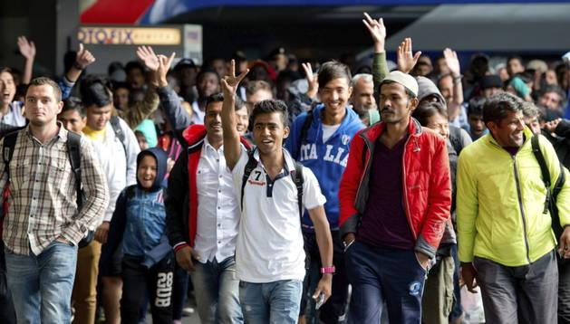 Alemania espera la llegada de otros 2.500 refugiados
