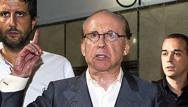 Fotografía de archivo del empresario José María Ruiz-Mateos.