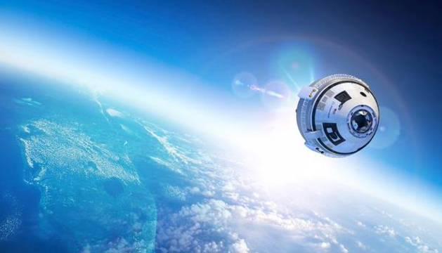 La nueva nave espacial Starliner.