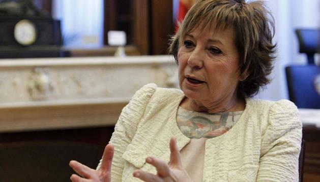 La vicepresidenta del Congreso Celia Villalobos.