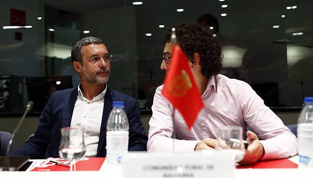 Laparra, durante su participación en la Conferencia Sectorial de Inmigración.