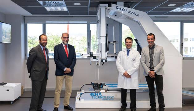 Ruperto Puertas, Fernando Domínguez, Manuel Murie-Fernández y Patxi Puñal.