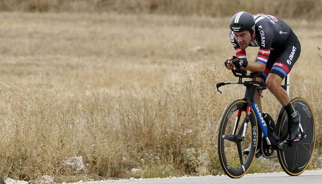 Vuelta España, contrarreloj de Burgos