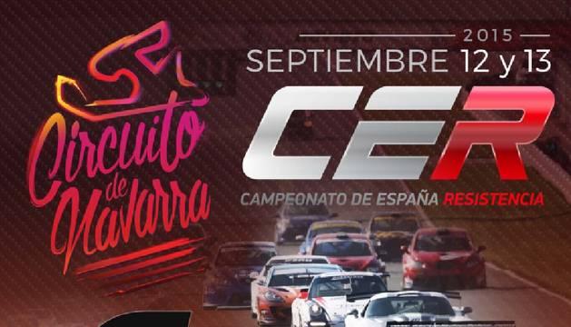 Cartel del Campeonato de España de Resistencia.