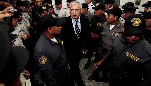 Prisión para el expresidente de Guatemala, Pérez Molina
