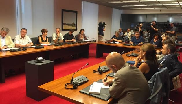 Miembros de la Comisión de Relaciones Ciudadanas e Institucionales.