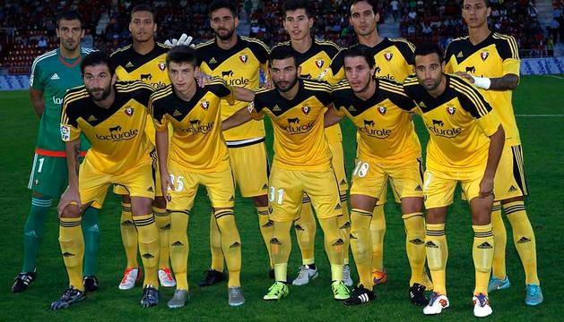Unai García, segundo por la derecha en la fila de atrás.