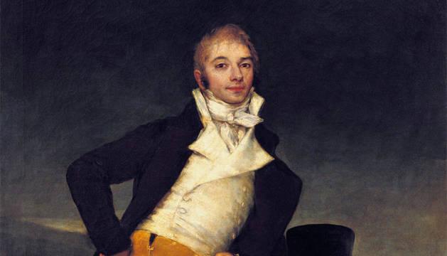 'El Marqués de San Adrián', de Goya.