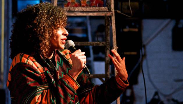 La creadora y productora artística Sarah Margarita Lewis.