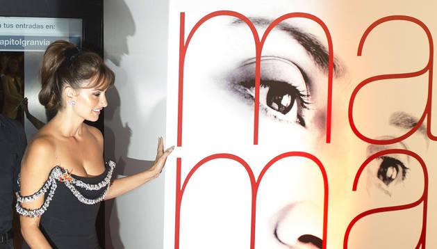 Penélope Cruz en la premiere de la película de 'Ma ma'.