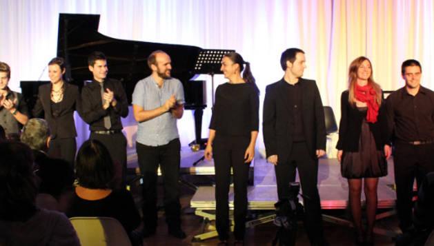 Un concierto anterior de CMC Garaikideak.