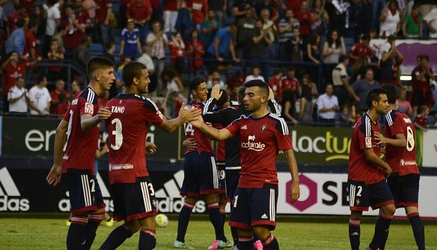 Imágenes del Osasuna-Leganés
