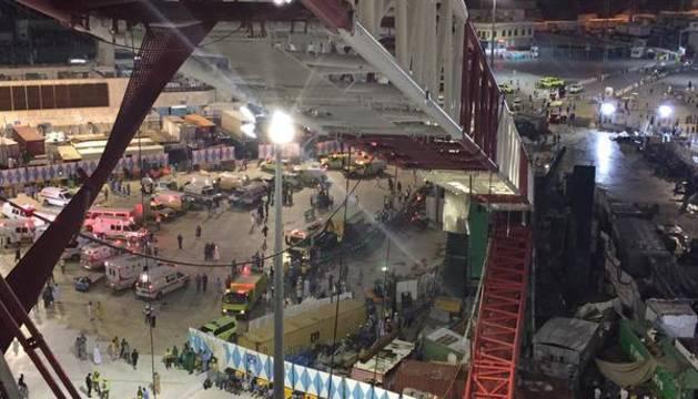 Trágico suceso en la Gran Mezquita de La Meca