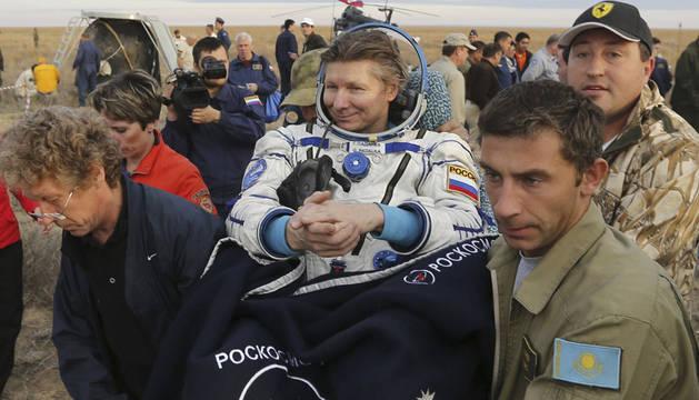 Gennady Padalka, el ser humano que más tiempo ha pasado en el espacio