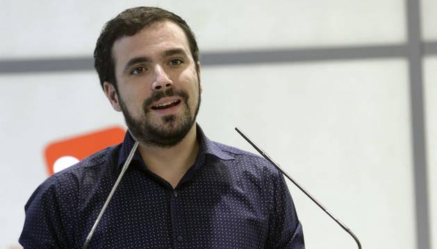 Garzón dice que se presentará a las primarias de Ahora en Común