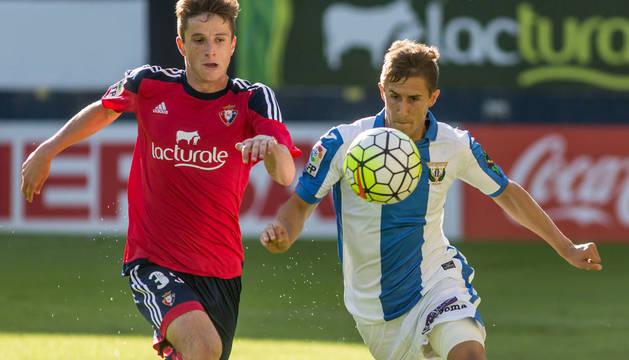 Olavide, en el partido contra el Leganés.