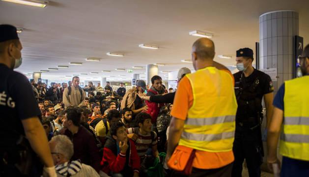 Alemania reanuda los controles en la frontera con Austria