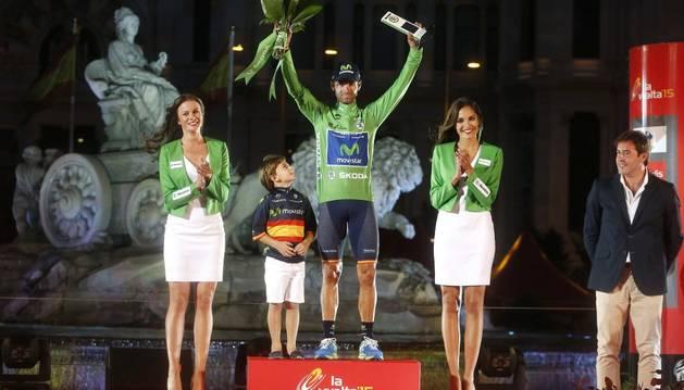Valverde se hizo el 'maillot' verde en la Vuelta.