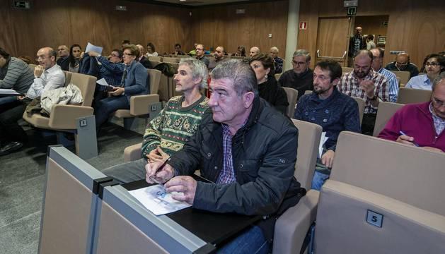 Representantes de la Mancomunidad durante una de las asambleas del año pasado.