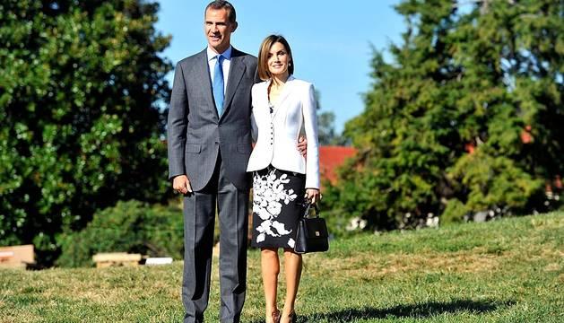 Don Felipe y Doña Letizia recorren Mount Vernon, la que fue residencia del primer presidente de EE UU.