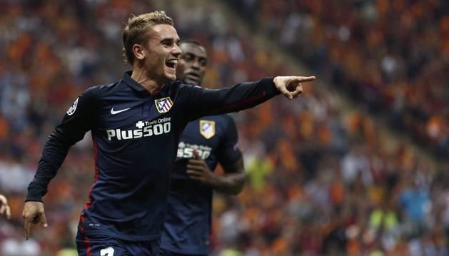 Griezmann, contra el Galatasaray.